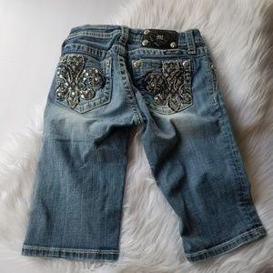 MISS ME girls 10 Bermuda shorts